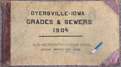 Grades and Sewers 1904